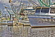 Shrimp Boat Art - Lady Vera by Scott Pellegrin