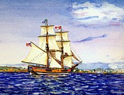 Lady Washington Painting Prints - Lady Washington Print by Cynthia Pride