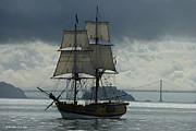 Sausalito Metal Prints - Lady Washington Metal Print by Sabine Stetson