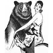 Heather Pecoraro - Lady with Bear
