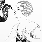 Heather Pecoraro - Lady with Snake