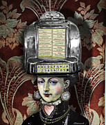 Jukebox Art - Lady Wurlitzer by Larry Butterworth