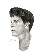Athlete Paintings - Laettner by Tamir Barkan