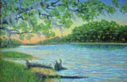 Dwain Ray - Lagoon at Hunting Island