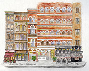 Greenwich Village Paintings - LaGuardia Place in Greenwich Village by Lynn Lieberman