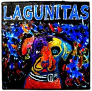 Lagunitas Dog Print by Neal Barbosa
