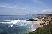 Lajolla Metal Prints - Lajolla Shores 2 Metal Print by Carol Landry