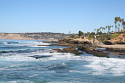 Lajolla Framed Prints - Lajolla Shores Framed Print by Carol Landry
