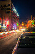 Duluth Art - Lake Avenue Saturday Night by Shutter Happens Photography