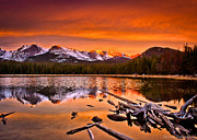 Lake Bierstadt In The Morn Print by Steven Reed