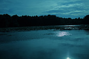 Sanjay Deva - Lake by night