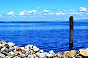 Port Kent Prints - Lake Champlain 1 Print by Sarah Holenstein
