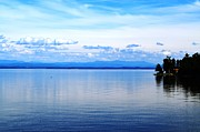 Port Kent Prints - Lake Champlain 8 Print by Sarah Holenstein