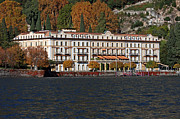 Villa Deste Prints - Lake Como Italy Print by Amos Dor