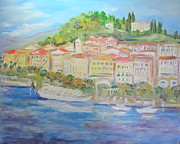 Barbara Anna Knauf - Lake Como Italy village