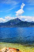 Lake Garda Paradise Print by Mariola Bitner
