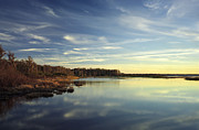 Chris Kusik Framed Prints - Lake Gentry Sunset II.  Framed Print by Chris  Kusik