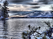 Russ Considine - Lake George Winter Sunset