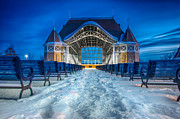 Harriet Prints - Lake Harriet Bandshell Print by Mark Goodman