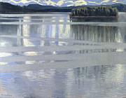Akseli - Lake Keitele by Akseli Gallen-Kallela