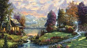 Jessie J De La Portillo - Lake Land Thomas Kinkade...