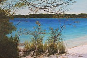 Swimming Hole Paintings - Lake Mackenzie by Nigel Necklen