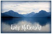 Lake Mcdonald Framed Prints - Lake McDonald Framed Print by Carol Groenen