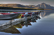 Apgar Prints - Lake McDonald Print by Darlene Bushue