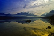 Lake Mcdonald Prints - Lake Mcdonald Glacier National Park Print by Jeff  Swan
