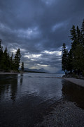 Apgar Photos - Lake McDonald Storm by Nick Garner