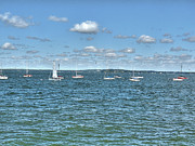 Lake Mendota Prints - Lake Mendota Print by David Bearden