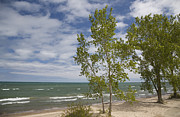 Indiana Dunes Photos - Lake Michigan by Jim West