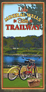 Texas Parks Posters - Lake Mineral Wells State Trailway Poster by Jim Sanders