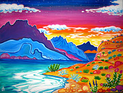 Rachel Houseman - Lake Mojave Sunset