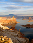 Jeff Brunton Metal Prints - Lake Powell from Alstrum Pt 12 Metal Print by Jeff Brunton