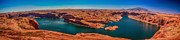 Powell River Metal Prints - Lake Powell Panorama HDR Metal Print by Scott Hansen