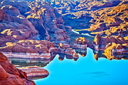 Powell River Metal Prints - Lake Powell Primacy 2 Metal Print by Scott Hansen