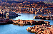 Wendy White Acrylic Prints - Lake Powell Acrylic Print by Wendy White