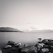 Lake Pukaki And Mount Cook New Zealand. Print by Colin and Linda McKie