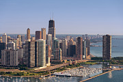 Aerial Originals - Lake Shore Drive Curve Chicago by Steve Gadomski
