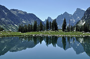 Green - Lake Solitude in Grand Teton National Park by Bruce Gourley