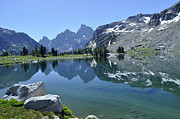 Green - Lake Solitude Shore in Grand Teton National Park by Bruce Gourley