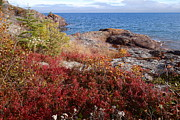 Sandra Updyke - Lake Superior Autumn  #2
