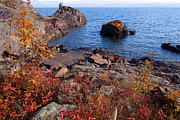 Sandra Updyke - Lake Superior Autumn