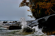 Matthew Winn Art - Lake Superior in a Mood by Matthew Winn
