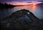 Todd Hanes - Lake Superior Sunset