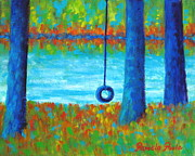 Pamela Poole - Lake Swing Tranquility
