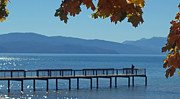 Carol Oberg Riley - Lake Tahoe Fishing Pier