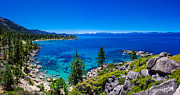 Peaceful Metal Prints - Lake Tahoe Summerscape Metal Print by Scott McGuire