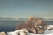 Lake Tahoe Winter Print by Kim Hojnacki